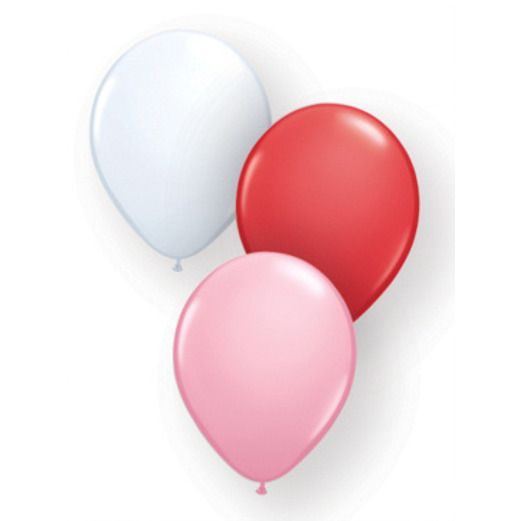 Valentine's Day Balloons Valentine's Balloon Assortment Image