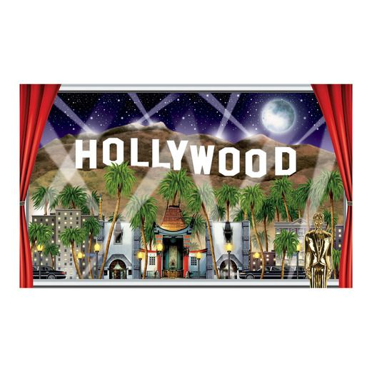 Awards Night & Hollywood Decorations Hollywood Backdrop Image