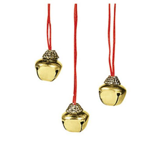 Christmas Party Wear Jumbo Jingle Bell Necklace Image