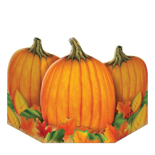 Thanksgiving Decorations Fall Harvest Stand Up Image