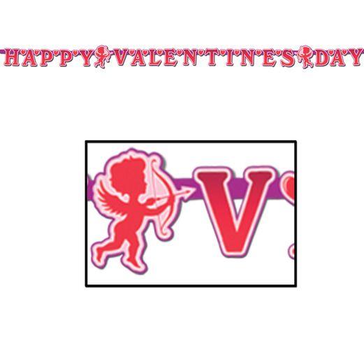 Valentine's Day Decorations Happy Valentine's Day Streamer Image