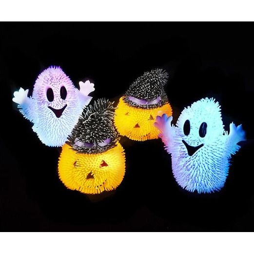 Halloween Favors & Prizes Halloween Light Up Puffer Image