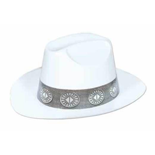 Western Hats & Headwear White Plastic Cowboy Hat Image