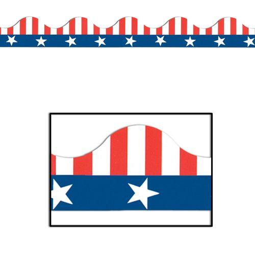Patriotic Border Trim