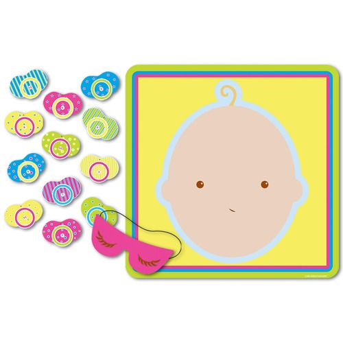 Pin the Pacifier Game