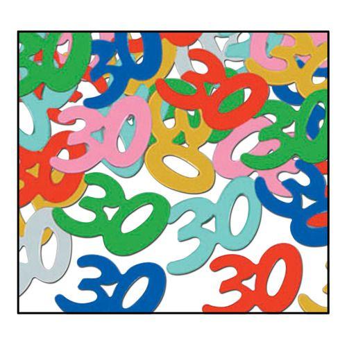 """""""30"""" Confetti Multicolor"""