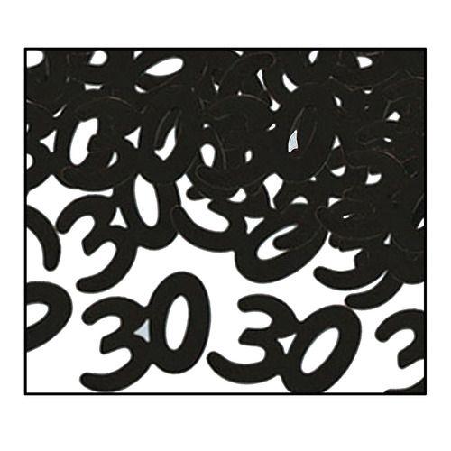 """""""30"""" Confetti Black"""