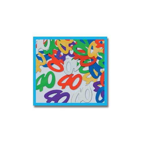 """""""40"""" Confetti Multicolor"""