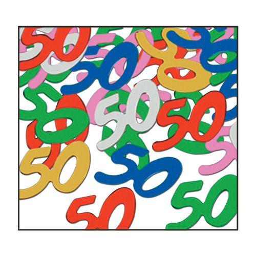 """""""50"""" Confetti Multicolor"""