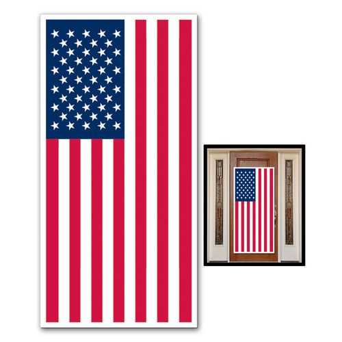 USA Flag Door Cover