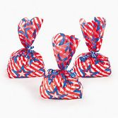 4th of July Gift Bags & Paper Patriotic Goody Bags Image
