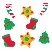 Christmas Favors & Prizes Rubber Holiday Erasers Image