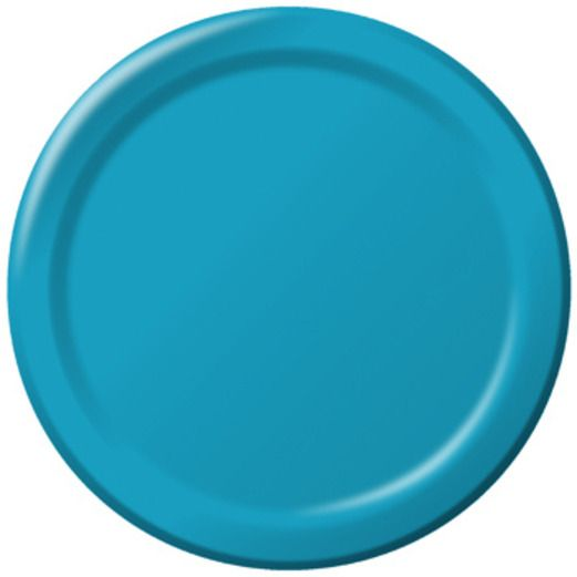 Table Accessories Turquoise Dessert Plates Image