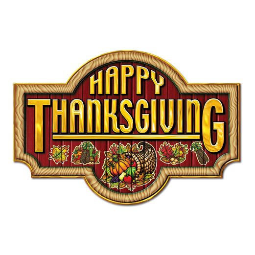 Thanksgiving Decorations Happy Thanksgiving Sign Image