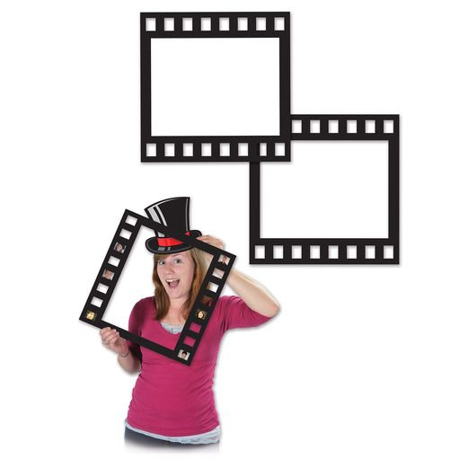 Awards Night & Hollywood Decorations Filmstrip Photo Fun Frames Image