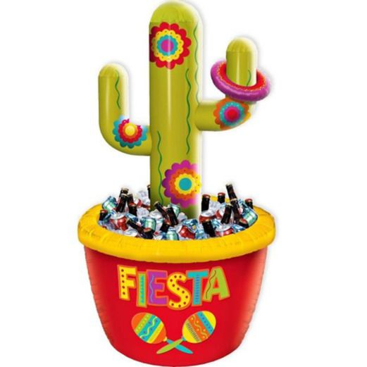 Fiesta Cooler and Ring Toss Game