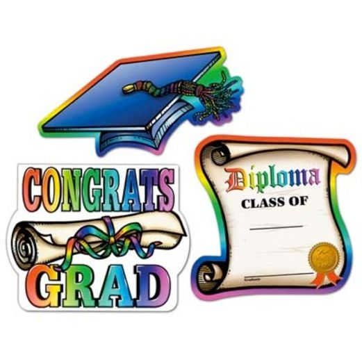 Graduation Decorations Graduation Cutouts Image