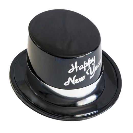 New Years Hats & Headwear Silver Legacy Topper Image