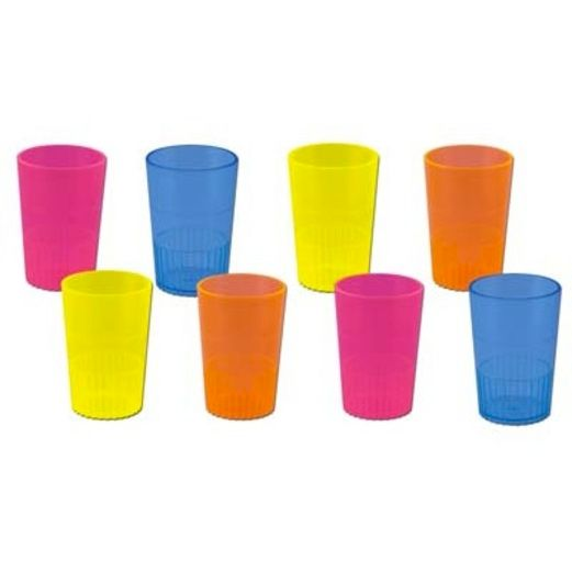 Cinco de Mayo Table Accessories Neon Shot Glasses Image
