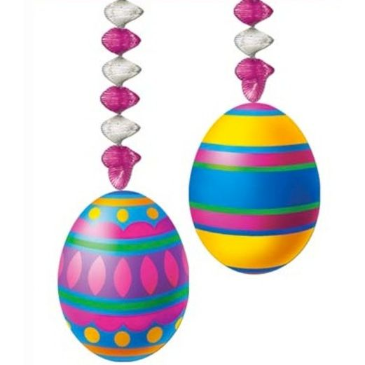 Easter Decorations Easter Egg Danglers Image