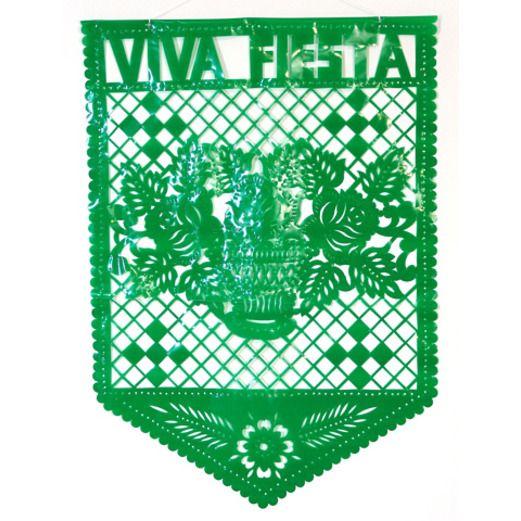 Cinco de Mayo Decorations Viva Fiesta Plastic Mural Image