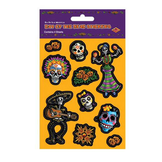 Day of the Dead Decorations Day of the Dead Stickers Image