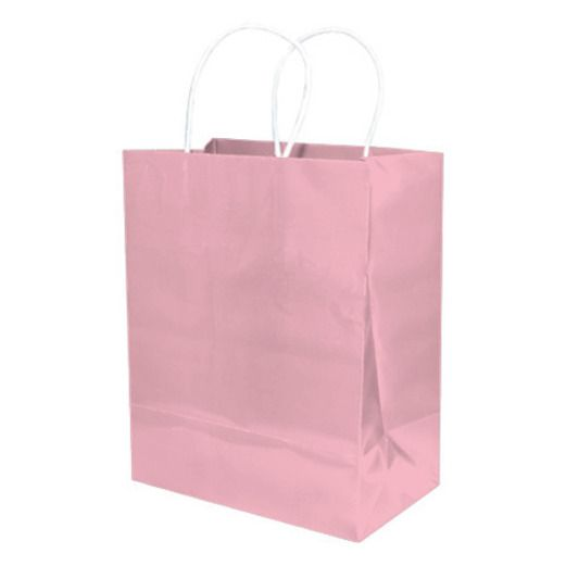 Baby Shower Gift Bags & Paper Medium Gift Bag Light Pink Image
