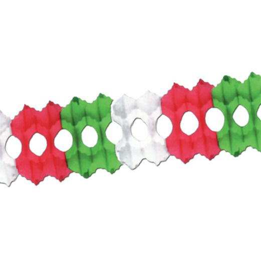 Cinco de Mayo Decorations Red, White and Green Arcade Garland Image