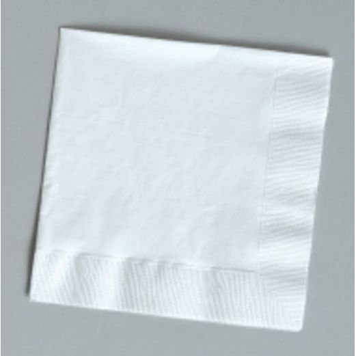 Wedding Table Accessories White Luncheon Napkins Image
