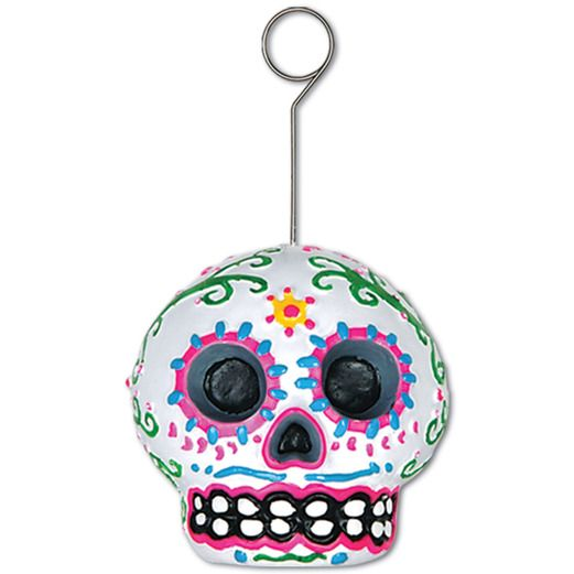 Day of the Dead Decorations Day of the Dead Male Photo/Balloon Holder Image