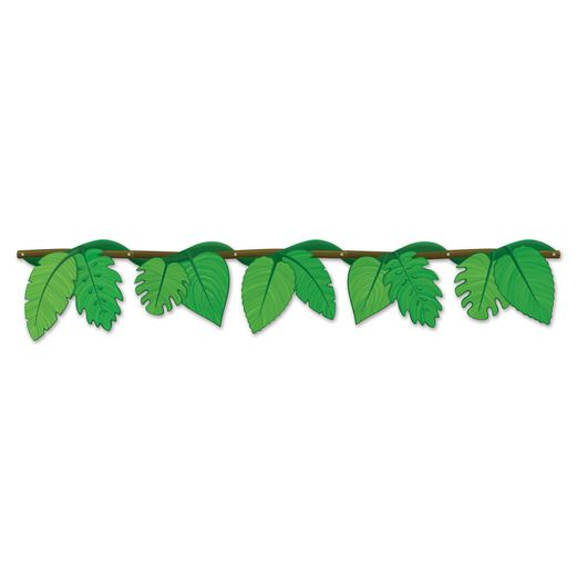 Jungle & Safari Decorations Jungle Vine Streamer Image