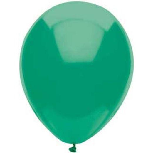 "St. Patrick's Day Balloons 11"" Deep Jade Balloons Image"