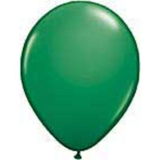 Balloons 3' Green Latex Balloon Image
