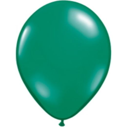 "St. Patrick's Day Balloons 5"" Emerald Green Balloons Image"