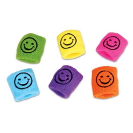 Birthday Party Favors & Prizes Smile Face Sweatbands Image