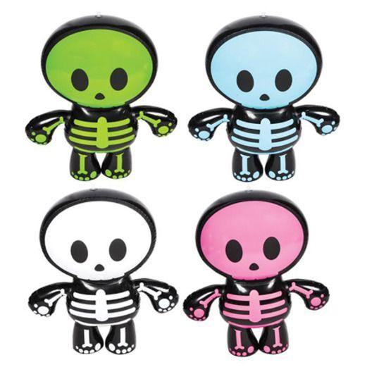 Halloween Favors & Prizes Inflatable Skeleton Buddy Image
