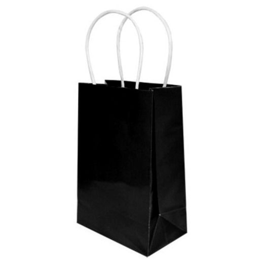 Gift Bags & Paper Small Gift Bag Black Image