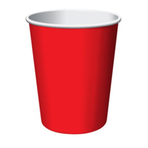 Valentine's Day Table Accessories Red Cups Image