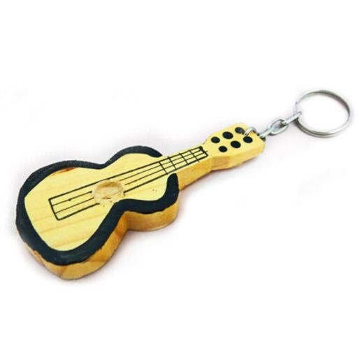 Cinco de Mayo Decorations Mexican Guitar Keychain Image
