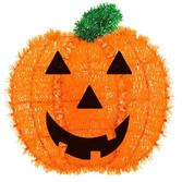 Halloween Decorations Tinsel Pumpkin Image
