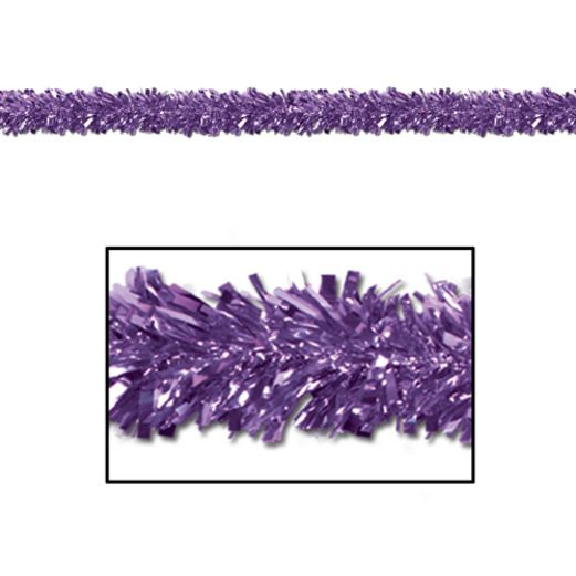 Decorations Purple Festoon Garland Image