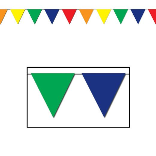 Decorations 120' Multicolor Pennant Image