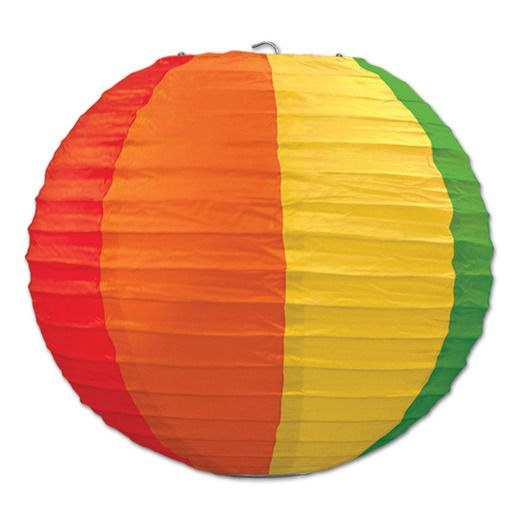 Decorations Rainbow Paper Lanterns Image
