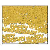 Anniversary Decorations Gold Anniversary Confetti Image