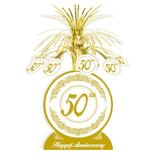 Anniversary Decorations 50th Anniversry Centerpiece Image