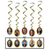 Decorations / Hanging Decorations American President Whirls Image