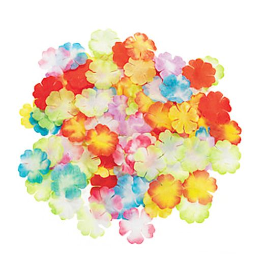 Luau Mini Bright Flower Petals Image