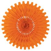 Halloween Decorations Orange Tissue Fan Image