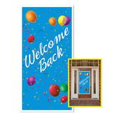 Back to School Decorations Welcome Back Door Cover Image