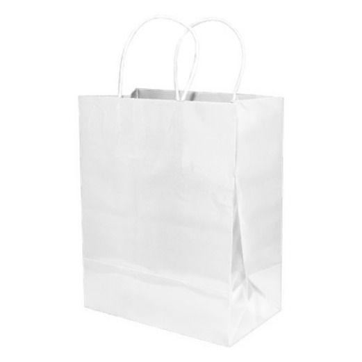 Wedding Gift Bags & Paper Medium Gift Bag White Image
